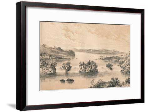 Lake Victoria Nyanza, c1880--Framed Art Print