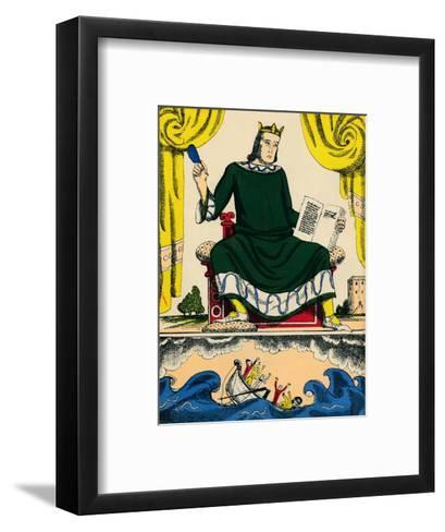 Henry I, King of England from 1100, (1932)-Rosalind Thornycroft-Framed Art Print