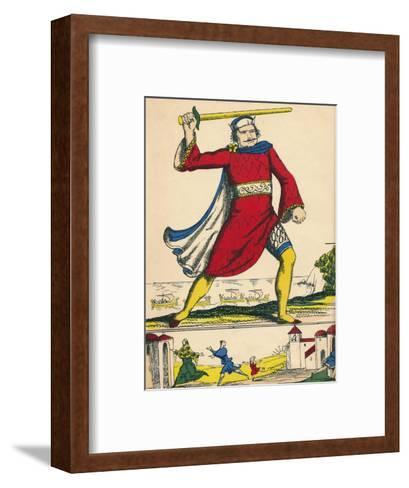 William I, King of England from 1066, (1932)-Rosalind Thornycroft-Framed Art Print