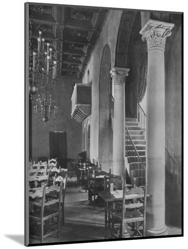 Detail of main dining room, University Club Building, Los Angeles, California, 1923--Mounted Photographic Print