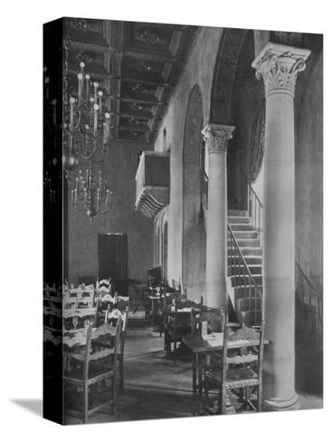 Detail of main dining room, University Club Building, Los Angeles, California, 1923--Stretched Canvas Print