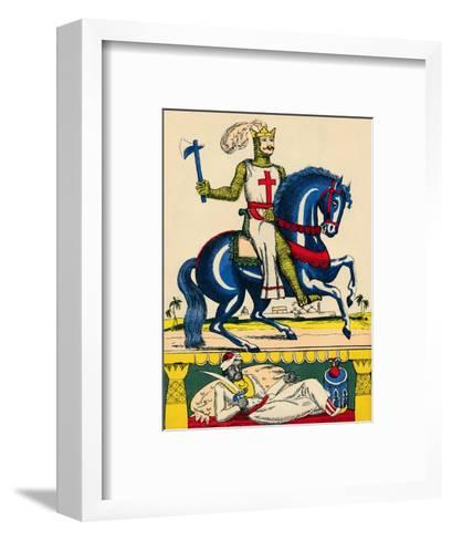 Richard I, King of England from 1189, (1932)-Rosalind Thornycroft-Framed Art Print