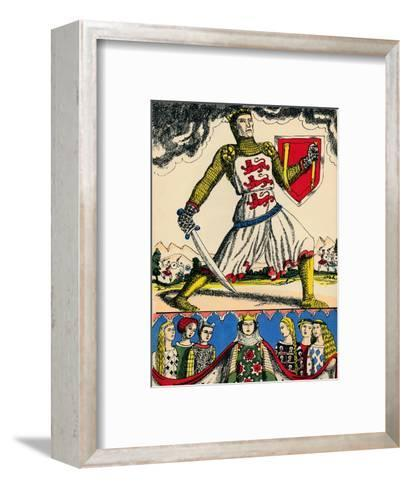 Edward I, King of England from 1272, (1932)-Rosalind Thornycroft-Framed Art Print