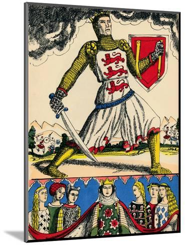 Edward I, King of England from 1272, (1932)-Rosalind Thornycroft-Mounted Giclee Print
