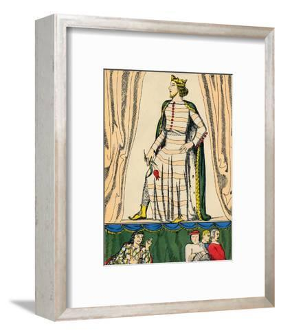 Edward II, King of England from 1307, (1932)-Rosalind Thornycroft-Framed Art Print