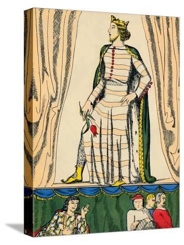 Edward II, King of England from 1307, (1932)-Rosalind Thornycroft-Stretched Canvas Print