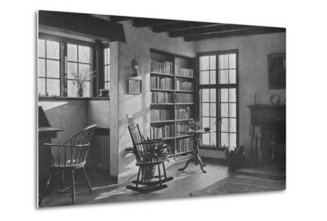 Living room - stucco cottage at Bronxville, New York, 1925--Metal Print