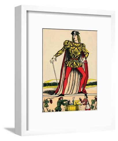 Edward IV, King of England, (1932)-Rosalind Thornycroft-Framed Art Print