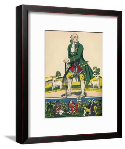 George III, King of Great Britain and Ireland from 1760, (1932)-Rosalind Thornycroft-Framed Art Print