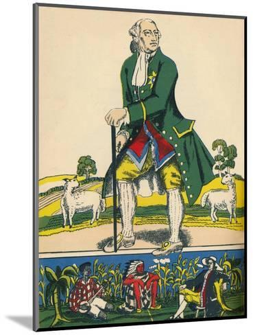 George III, King of Great Britain and Ireland from 1760, (1932)-Rosalind Thornycroft-Mounted Giclee Print