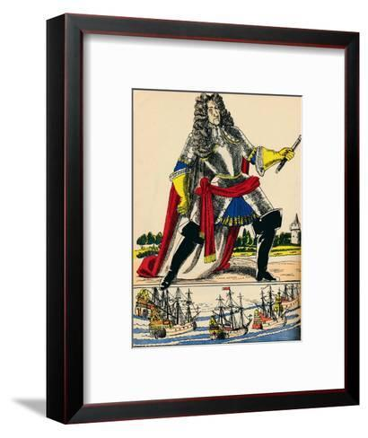 James II, King of Great Britain and Ireland from 1685, (1932)-Rosalind Thornycroft-Framed Art Print