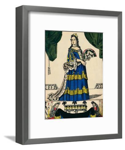 Anne, Queen of Great Britain and Ireland from 1702, (1932)-Rosalind Thornycroft-Framed Art Print