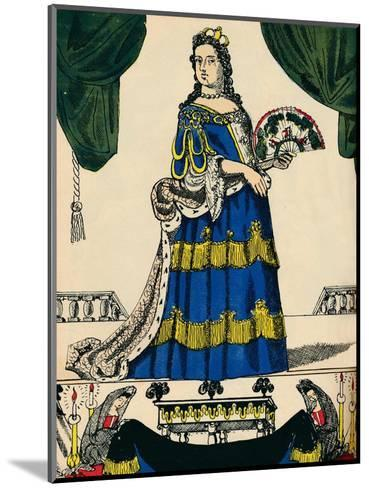 Anne, Queen of Great Britain and Ireland from 1702, (1932)-Rosalind Thornycroft-Mounted Giclee Print