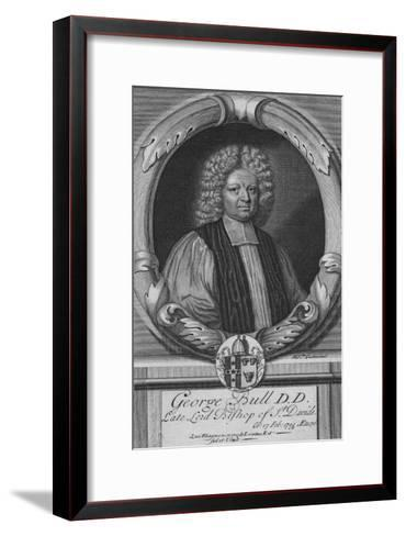 George Bull D.D, Late Lord Bishop of St. Davids, c18th century--Framed Art Print