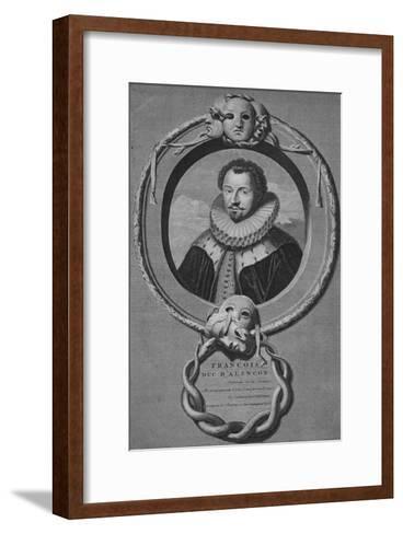 Francois Duc DAlencon, c1900-Gunst-Framed Art Print