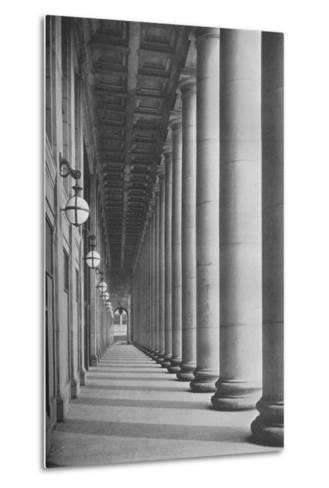 Portico facing Canal Street, Chicago Union Station, Illinois, 1926--Metal Print