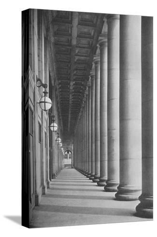 Portico facing Canal Street, Chicago Union Station, Illinois, 1926--Stretched Canvas Print
