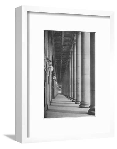 Portico facing Canal Street, Chicago Union Station, Illinois, 1926--Framed Art Print