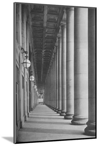 Portico facing Canal Street, Chicago Union Station, Illinois, 1926--Mounted Photographic Print