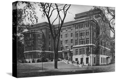 Jane Frances Brown Building for Private Patients, Rhode Island Hospital, Providence, 1922--Stretched Canvas Print