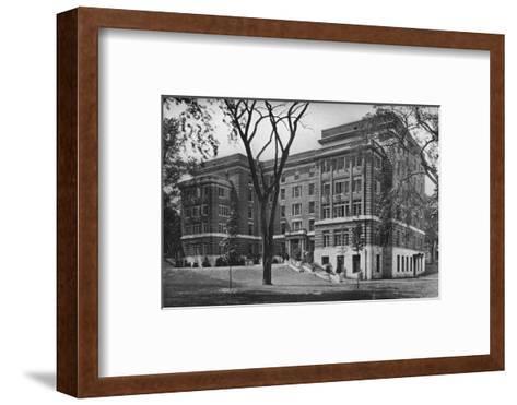 Jane Frances Brown Building for Private Patients, Rhode Island Hospital, Providence, 1922--Framed Art Print