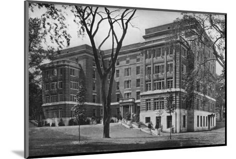 Jane Frances Brown Building for Private Patients, Rhode Island Hospital, Providence, 1922--Mounted Photographic Print