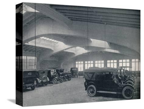 Concrete portal or rigid bent, 1922--Stretched Canvas Print