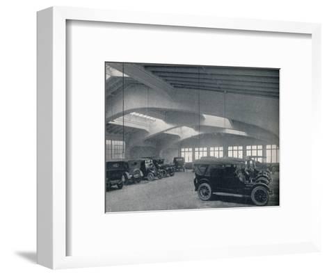 Concrete portal or rigid bent, 1922--Framed Art Print