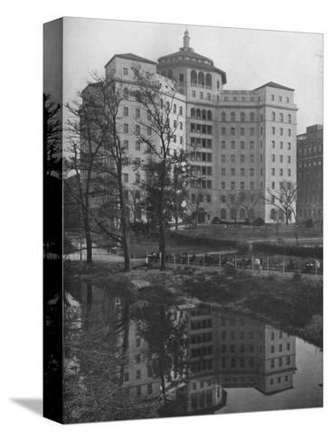 General view from Central Park, Fifth Avenue Hospital, New York City, 1922--Stretched Canvas Print