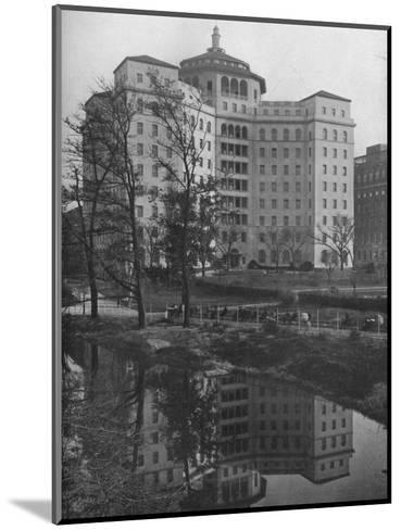 General view from Central Park, Fifth Avenue Hospital, New York City, 1922--Mounted Photographic Print