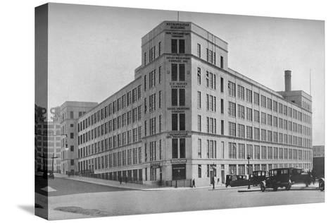 Printing Building, Metropolitan Life Insurance Company, Long Island City, New York, 1922--Stretched Canvas Print