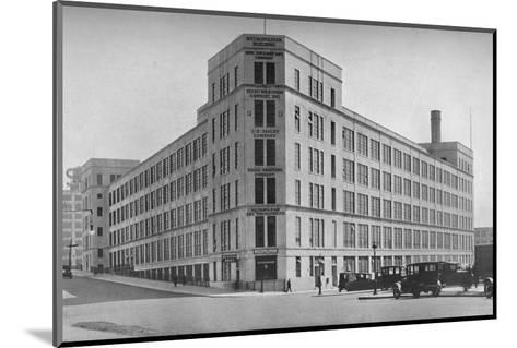 Printing Building, Metropolitan Life Insurance Company, Long Island City, New York, 1922--Mounted Photographic Print