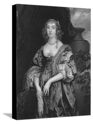 Anne Carre, Countess of Bedford, 1834-John Cochran-Stretched Canvas Print