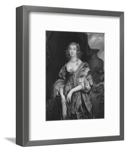 Anne Carre, Countess of Bedford, 1834-John Cochran-Framed Art Print