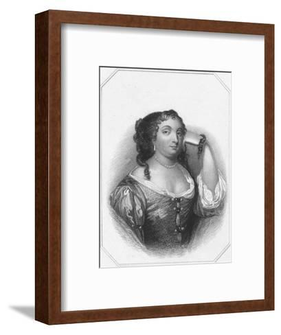 Anne Hyde, Duchess of York, c1830-Thomas Phillibrown-Framed Art Print