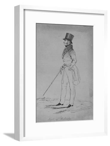 Earl of Uxbridge, 1838-Thomas Wilson-Framed Art Print