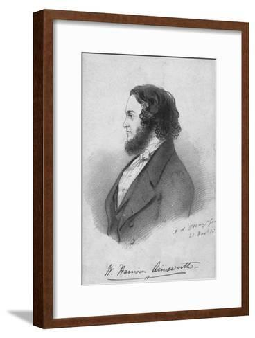 Mr. Harrison Ainsworth, c1840-Alfred d'Orsay-Framed Art Print
