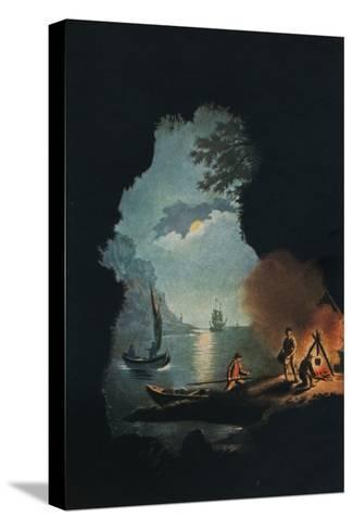 Smugglers, c1785-Catherine Brass Yates-Stretched Canvas Print