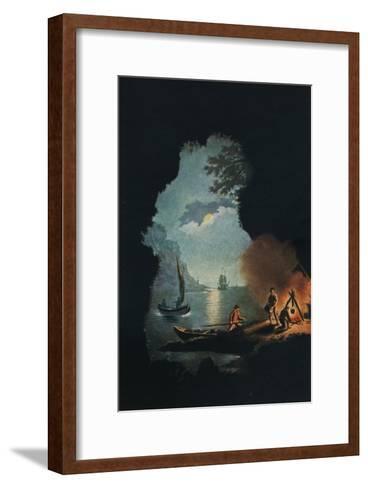Smugglers, c1785-Catherine Brass Yates-Framed Art Print