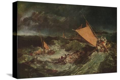 The Shipwreck, c1805-J^ M^ W^ Turner-Stretched Canvas Print