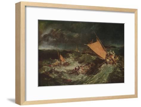 The Shipwreck, c1805-J^ M^ W^ Turner-Framed Art Print