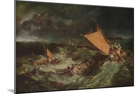 The Shipwreck, c1805-J^ M^ W^ Turner-Mounted Giclee Print