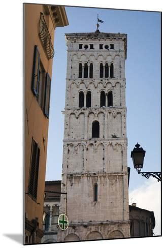 One of Many Towers That Rise Above the City in Lucca, Italy-Scott Warren-Mounted Photographic Print