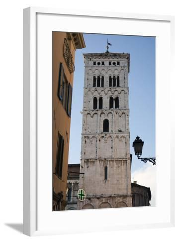 One of Many Towers That Rise Above the City in Lucca, Italy-Scott Warren-Framed Art Print