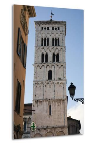 One of Many Towers That Rise Above the City in Lucca, Italy-Scott Warren-Metal Print