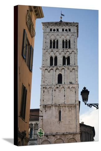 One of Many Towers That Rise Above the City in Lucca, Italy-Scott Warren-Stretched Canvas Print