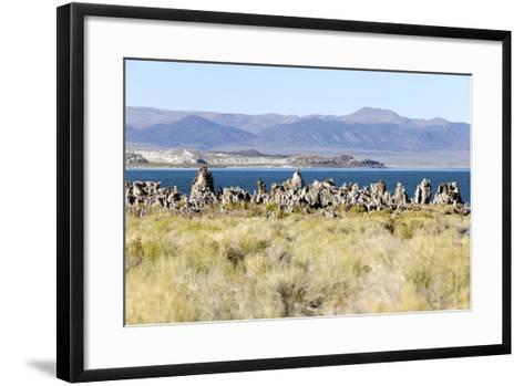 View of the Tufa Towers at Mono Lake-Jill Schneider-Framed Art Print