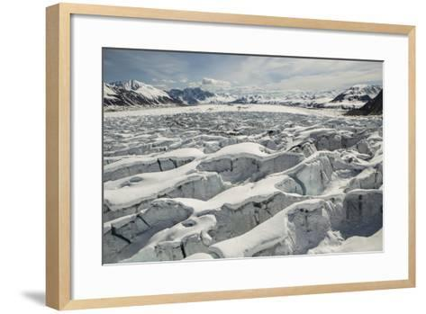 Great Ruth Gorge in Denali National Park-Aaron Huey-Framed Art Print