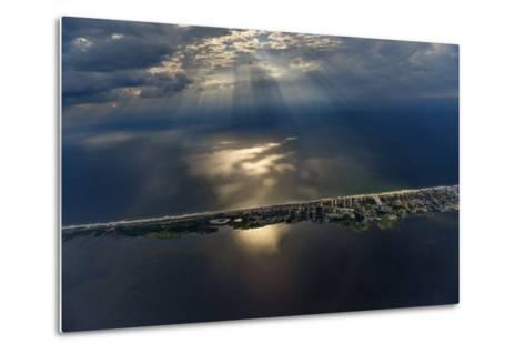 Hatteras Island Forms a Slender Barrier Between the Mainland and the Open Ocean-Keith Ladzinski-Metal Print