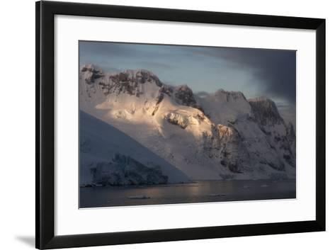 Lemaire Channel in Antarctica-Sergio Pitamitz-Framed Art Print